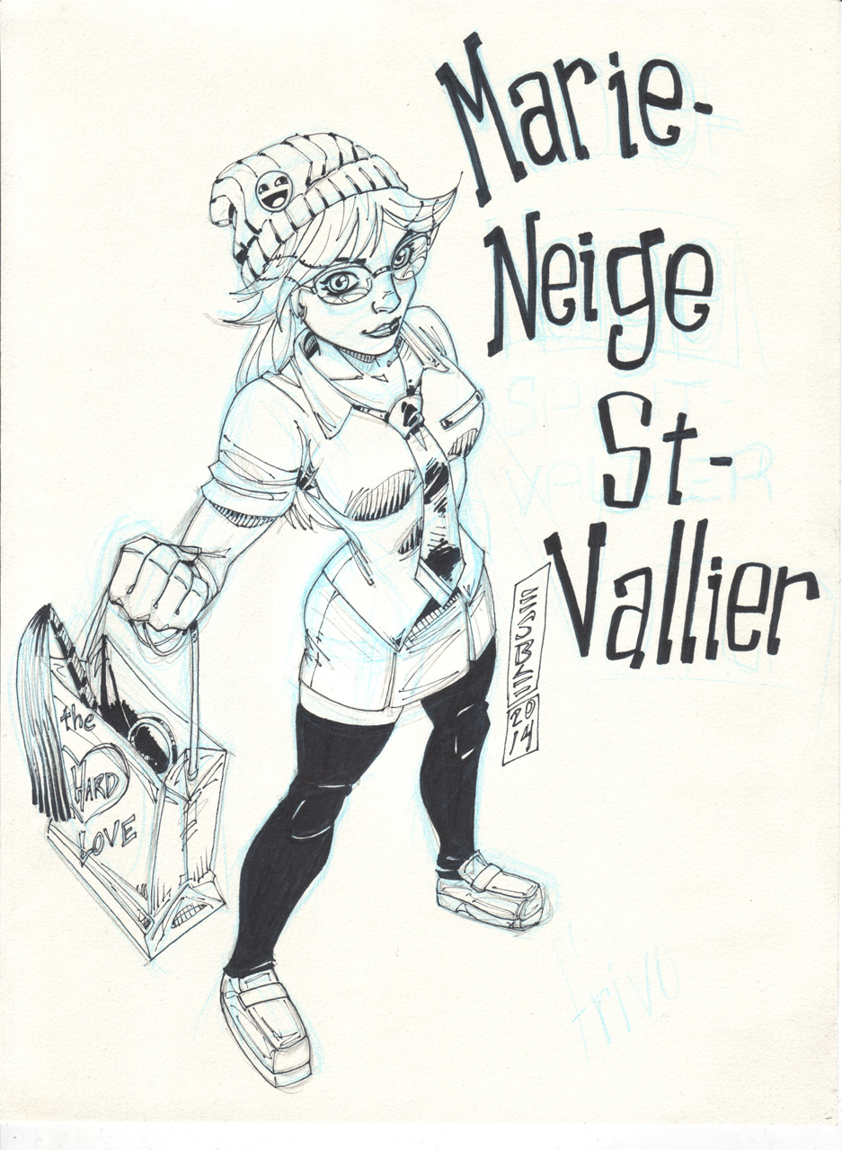 Marie-Neige - by Esbé
