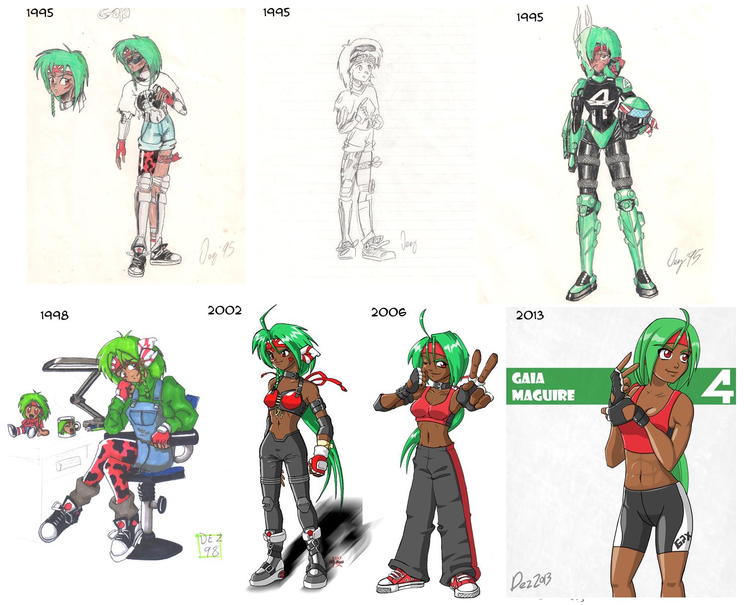 Gaia Webcomic frivolesque – page 6 – a webcomicetienne dez