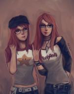 Chloe and Michele by Oshi Rockingham
