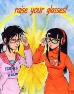 Mei-Mei and Clementine by Fabi