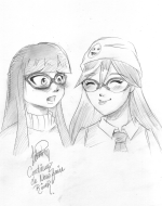 Clementine and Marie-Neige – by Letitia Momo Chan