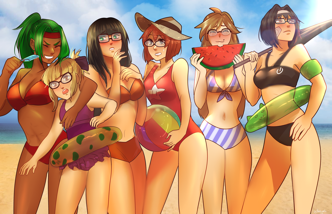 Beach Time – by Nero Art