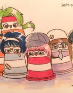 Frivo Girls as Ponto characters! by Tania Mignacca